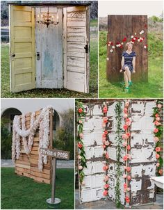 14 Kreative Ideen für Photo Booth Hintergründe | Hochzeitsblog - The Little Wedding Corner