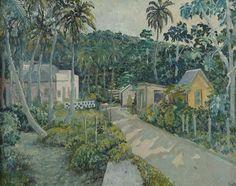 Albert Huie (Jamaican, 20th Century) 'Road to Ochos Rios'