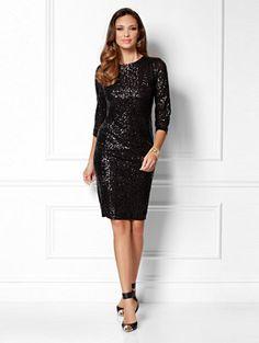 Eva Mendes Collection - Nicki Sequin Sheath Dress - New York