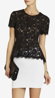 Love this BCBG outfit.  Perfect for the office or a night out on the town.