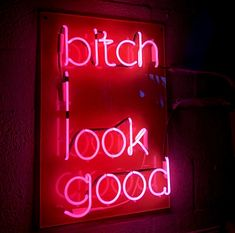 Neon Aesthetic, Aesthetic Words, Photo Wall Collage, Picture Wall, Neon Light Signs, Neon Signs, Neon Quotes, Neon Words, Bitch Quotes