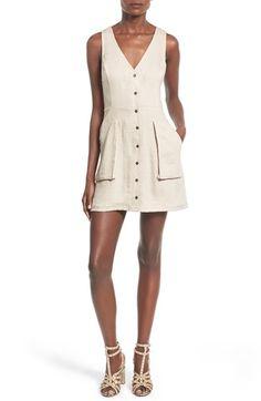 ASTR 'Ashley' Pocket Sheath Dress