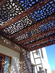 Pergola cladding idea