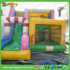 Fun Inflatable Combo Bouncing Games for Kiddies