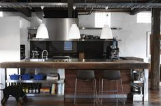 Grand Kitchen By Hare + Klein   Carriage House Industrial Kitchens, Industrial  Kitchen Design, Rustic