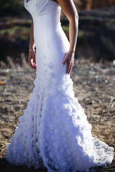 Mark Zunino gown | Fine Art Wedding Photography