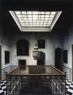 Studio Peregalli, Milan, one of the most highly regarded decorating and architecture firms in the world, known for extraordinary attention to detail and an uncanny ability to conjure the rarefied spirit of historical eras long forgotten, restored Moroccan riad in Tangiers