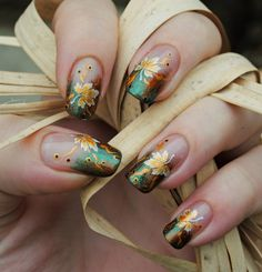 35 best fall autumn nail art design ideas images on pinterest