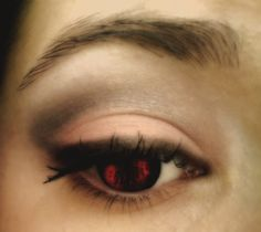 Neutral make up and evil eye!