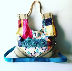 Messenger Hobo by jalmodovar on Etsy