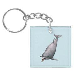 #Dolphin Acrylic #Keychain