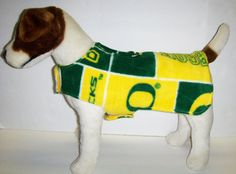 Oregon Ducks Fleece Dog Harness-vest for Small Dog. $24.00, via Etsy.
