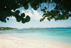 Sapphire Beach, St. Thomas. Laid on this beach too. THE MOST BEAUTIFUL BEACH I HAVE EVER LAID EYES ON!!