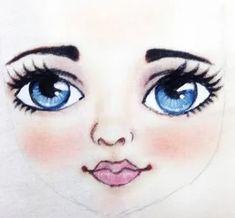 Doll Face Paint, Homemade Dolls, Felt Decorations, Doll Tutorial, Disney Characters, Fictional Characters, Sculptures, Rag Dolls, Mermaids
