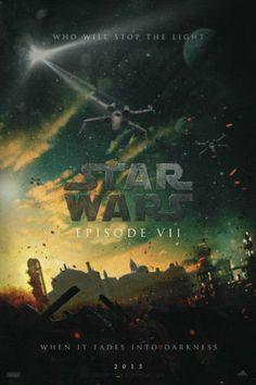 Star Wars Episode VII fan art movie poster