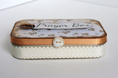 Altered Altoid Tin Prayer Box
