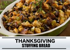 Barbecue recept: thanksgiving stuffing bread