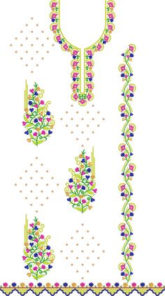 Embroidery Dress in INDIA Bell Design, Embroidery Dress, Packaging Design, Designer Dresses, Embroidery Designs, Crochet Necklace, Stitch, India, Free