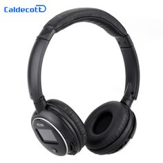 Caldecott Wireless Headset With TF CardDisplay Screen Bluetooth Headphones Bass Stereo Auriculares Earpod with Mic For iPhone 7
