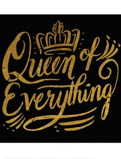 Queen Of Everything Canvas Print