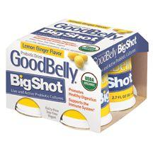Good Belly, Lemon Ginger Goodbelly Shot, 4/2.7 Oz