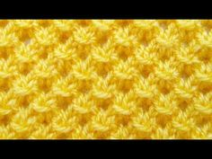 Узоры спицами. Ажурный узор для детей - YouTube