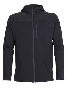The classic outdoor fleece hoody that's perfect for quick hikes, cool walks to campus or work, and cold-weather travels, the Men's Mt. Elliot Long Sleeve Zip Hood will be with you any day there's a chill in the air. Designed with stretchy 200gm merino wool terry RealFLEECE® fabric, the Mt. Elliott has a brushed back that provides ample warmth while remaining lightweight and highly packable. Zippered hand and chest pocket keep your small items secure, and our Oasis fabric lines the hood and…
