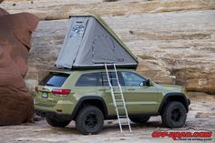 We're bringing you an extended look at all of the Moab EJS 2015 Jeep Concepts with our extended gallery of images straight from the trail head! 2017 Grand Cherokee, Grand Cherokee Trailhawk, Grand Cherokee Overland, Jeep Grand Cherokee Limited, Jeep Cherokee, Roof Top Campers, Roof Top Tent, Jeep Truck, Jeep Jeep