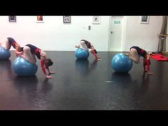 Serious ballet students 15 years and try this with control - YouTube