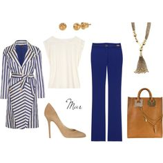 classic work look - never goes out of style!  Want the jewls too? Easy! www.stelladot.com/yadira