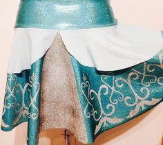 Cinderella Running Skirt by RunPrincessRun on Etsy