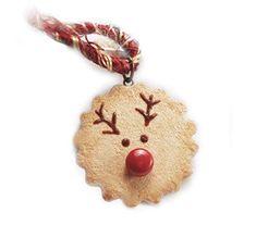 Christmas Reindeer Cookies, Christmas Ornaments, Silk Thread, Cord, Amazon, Holiday Decor, Handmade, Jewelry, Cable