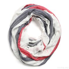 Stitch Fix Style | This Just In: Harrison Striped Infinity Scarf