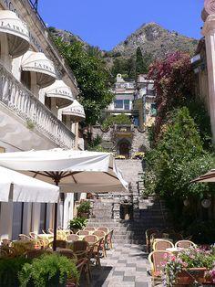 Orologio restaurant in Taormina, Sicily
