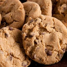 Vegan Chocolate Chip Cookies Recipe Desserts with all-purpose flour, baking soda, fine salt, nonhydrogenated margarine, granulated sugar, mild molasses, vanilla extract, semisweet vegan chocolate chips
