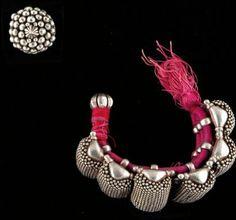 Bracelet et bague Bracelet et bague à granulations Argent Inde, Radjasthan