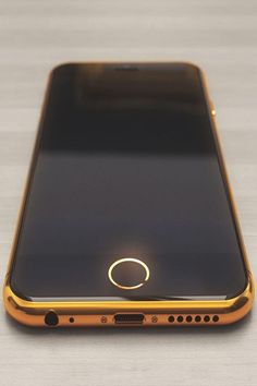 Golden iPhone 6 concept