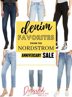 My Nordstrom Anniversary Sale Denim Favorites - Dressed for My Day All Silhouettes, Best Jeans For Women, Buy Jeans, Summer Denim, Shopping Tips, Nordstrom Anniversary Sale, Classic Style Women, Jeans Brands, Denim Fashion