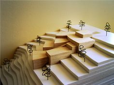 House on a slope on Behance