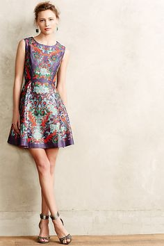 Embroidered Octave Dress #anthropologie