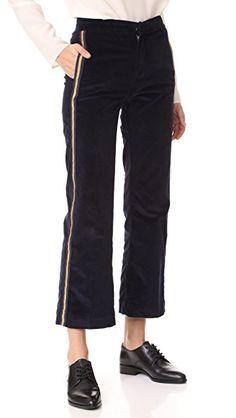 Seafarer Ammiraglio Corduroy Palazzo Pants In Navy Seafarer, Corduroy Pants, Palazzo Pants, Who What Wear, Fashion Pants, Black Jeans, Sporty, Legs, Navy