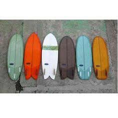 Repost from @rockdancesurf Almond short-boards in Japan #almondsurfboards