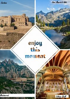 Must-see places  in Catalunya: Montserrat, Cardona, Sant Maurici's lake and Colonia Guell