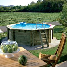 1000 images about piscine on pinterest petite piscine small pools and pis - Mini piscine desjoyaux ...