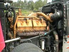 3412 cat under hood Big Rig Trucks, Cool Trucks, Small Diesel Generator, Cat Engines, Tractor Pictures, Custom Big Rigs, Custom Trucks, Caterpillar Engines, Truck Engine