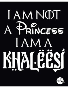 Camiseta I Am A Khaleesi 2 - Game Of Thrones