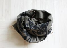 MERINO WOOL FELTED SCARF from Grotkop Collection www.grotkop-collection.com