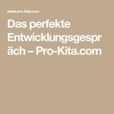Das perfekte Entwicklungsgespräch – Pro-Kita.com