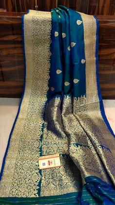 Brocade Blouse Designs, Saree Tassels Designs, Pattu Saree Blouse Designs, Designer Blouse Patterns, Trendy Sarees, Stylish Sarees, Fancy Sarees, Indian Silk Sarees, Indian Gowns