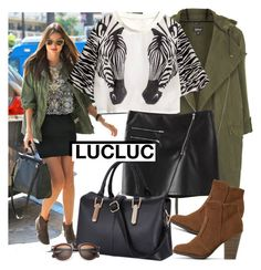 """Casual look - LUCLUC (10)"" by fashionqueengirl ❤ liked on Polyvore"